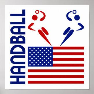 Handball United States Poster