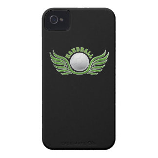 handball wings Case-Mate iPhone 4 protectores