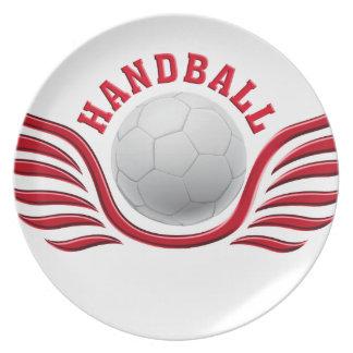 handball wings plato de cena