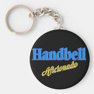 Handbell Aficionado Keychain