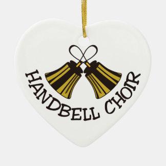 Handbell Choir Ceramic Ornament