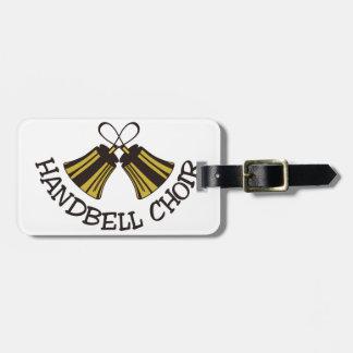 Handbell Choir Luggage Tag
