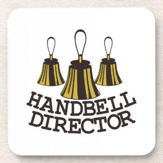 Handbell Director Beverage Coaster