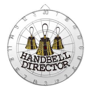 Handbell Director Dartboard With Darts