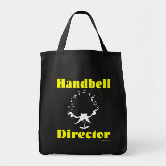 Handbell Director Grocery Tote Bag