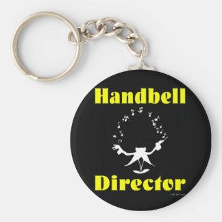 Handbell Director Keychain
