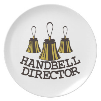 Handbell Director Melamine Plate