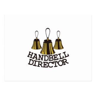 Handbell Director Postcard