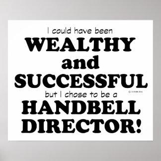Handbell Director Wealthy & Successful Poster