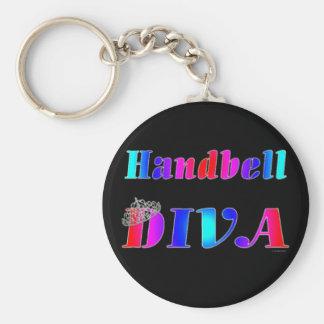 Handbell Diva Keychain