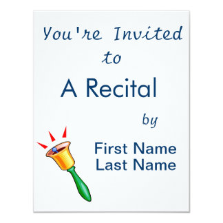 Handbell graphic image, hand chime image card