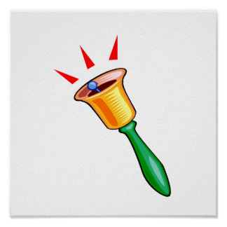 Handbell graphic image, hand chime image poster