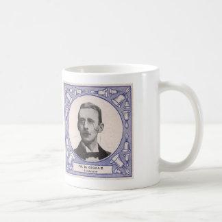 Handbell Idol text on back- Mr Giggle Conductor Coffee Mug