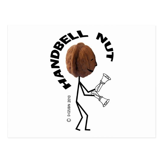 Handbell Nut Postcard