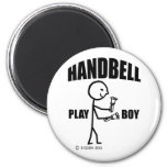 Handbell Play Boy Fridge Magnets