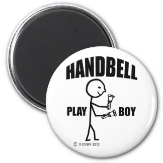 Handbell Play Boy Fridge Magnets