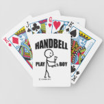 Handbell Play Boy Playing Cards