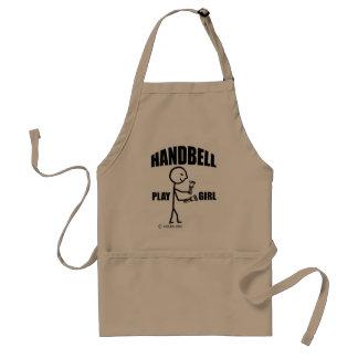 Handbell Play Girl Apron