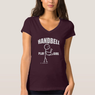 Handbell Play Girl T-Shirt