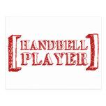 Handbell Player Post Cards