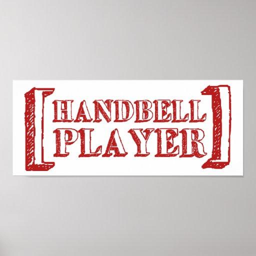 Handbell Player Poster