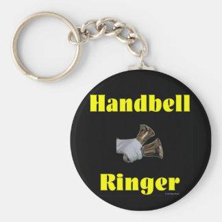 Handbell Ringer Keychain