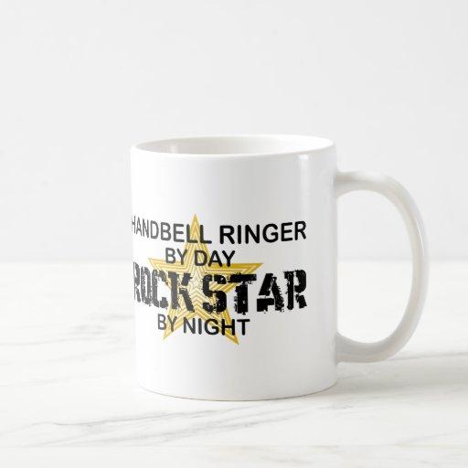 Handbell RInger Rock Star by Night Coffee Mug