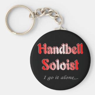 Handbell Soloist Keychain