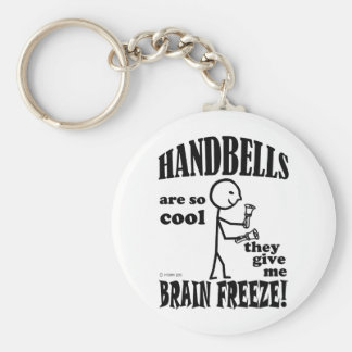 Handbells, Brain Freeze Basic Round Button Keychain