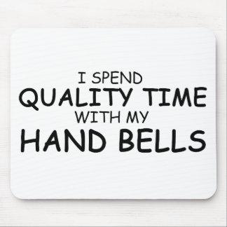 Handbells del tiempo de la calidad mouse pads