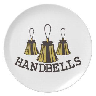 Handbells Dinner Plate