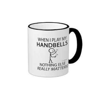 Handbells nada materias otras tazas de café