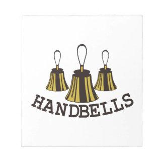 Handbells Notepad