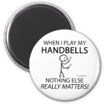 Handbells Nothing Else Matters 2 Inch Round Magnet