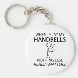 Handbells Nothing Else Matters Basic Round Button Keychain