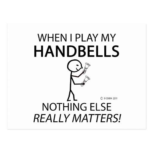 Handbells Nothing Else Matters Post Card
