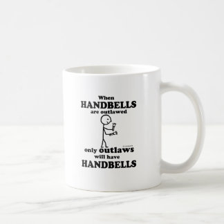 Handbells Outlawed Coffee Mug