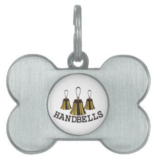 Handbells Pet Tag