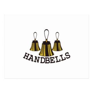 Handbells Postcard
