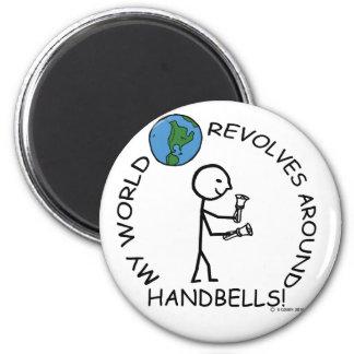 Handbells- World Revolves Around Refrigerator Magnets