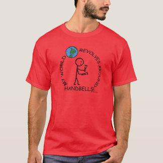 Handbells- World Revolves Around T-Shirt