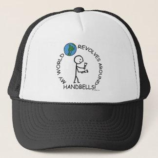 Handbells- World Revolves Around Trucker Hat