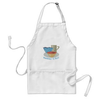 Handbuilt Is Best Adult Apron