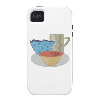 Handbuilt Pottery Case-Mate iPhone 4 Cover
