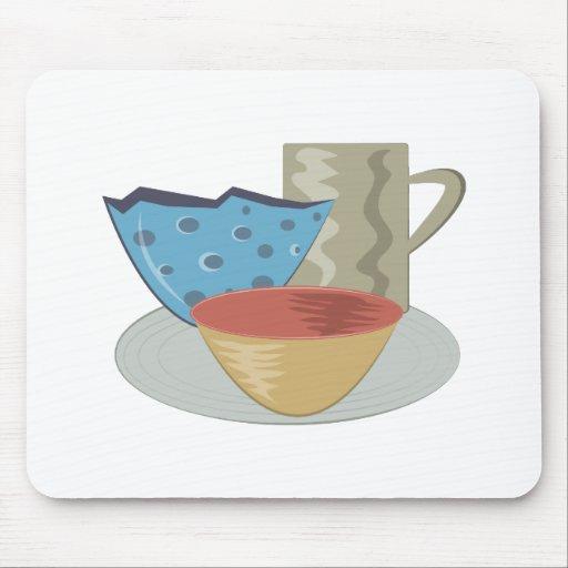 Handbuilt Pottery Mousepads