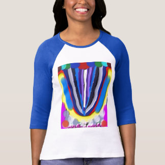 Handcrafted  Blue LOTUS Acrylic Tees