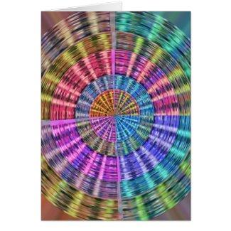 Handcrafted Native Folkart Basket Weave Pattern Cards