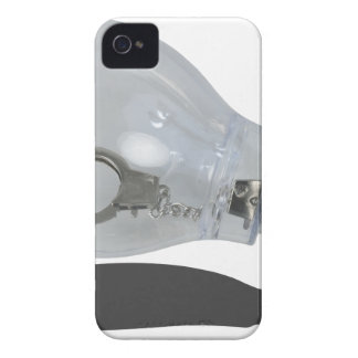 HandcuffInsideLightbulb083114 copy.png Case-Mate iPhone 4 Carcasa