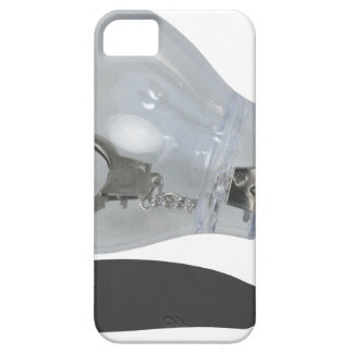HandcuffInsideLightbulb083114 copy.png Funda Para iPhone 5 Barely There