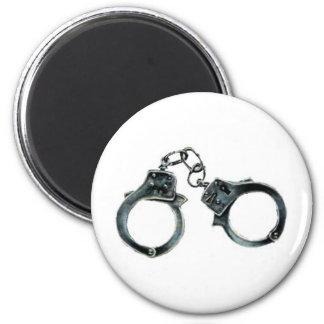handcuffs 2 inch round magnet